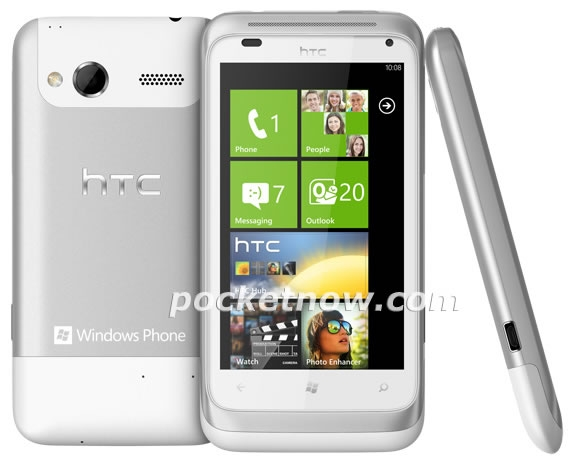 HTC Omega – смартфон на базе Windows Phone 7