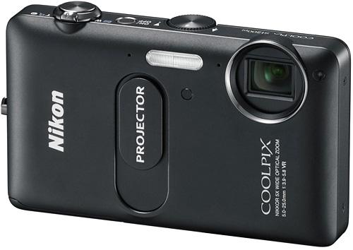 Камера с проектором Nikon Coolpix S1200pj