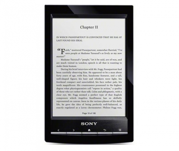 Новая электронная читалка от Sony