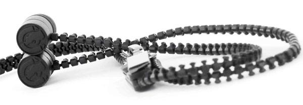 Ecko Zip – наушники в виде функционирующей молнии