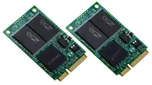 OCZ готовит к выпуску SSD-накопители Strata и Nocti с интерфейсом mSATA