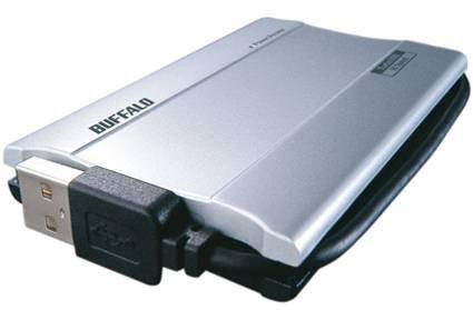 Buffalo представляет 100-гигабайтный портативный флеш-диск
