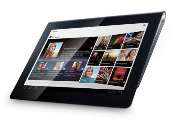 Планшет Sony Tablet S добрался до российского рынка
