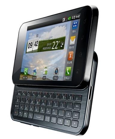 QWERTY-слайдер LG Optimus Q2