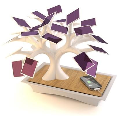 Electree: карликовое дерево, заряжающее гаджеты