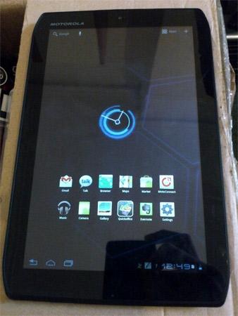 И снова Motorola – в этот раз с планшетом Xoom 2