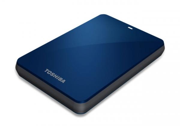 Toshiba America представляет портативные HDD Canvio 3.0