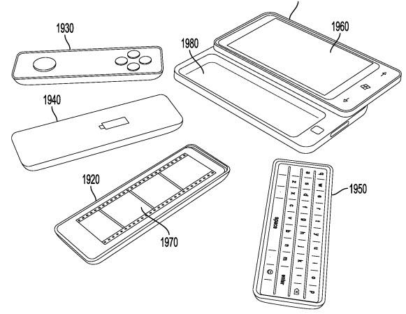 Microsoft патентует необычный форм-фактор слайдера-трансформера
