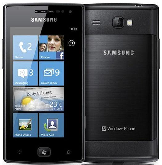 Samsung представляет Omnia W с Win. Phone 7.5 Mango