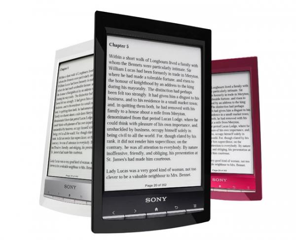 Открыт предзаказ на новую «читалку» от Sony с модулем Wifi