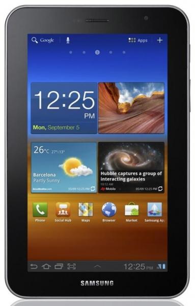 Samsung анонсирует Android-планшет Galaxy Tab 7.0 Plus
