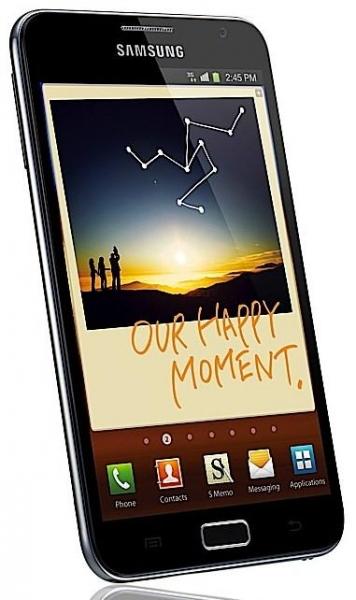 Samsung Galaxy Note появится в Европе уже в этом месяце