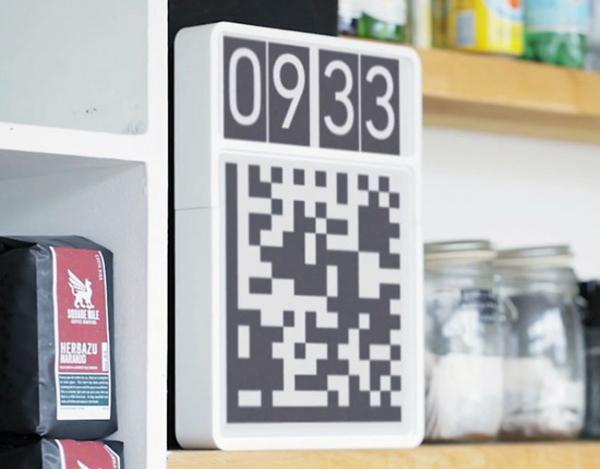 Часы с QR-кодом