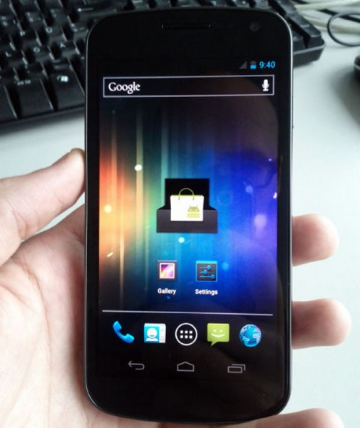 Nexus Prime (Galaxy Nexus) засветился на фотографиях и в видео