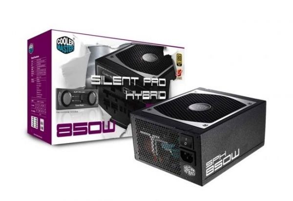 Бесшумные блоки питания Cooler Master Silent Pro Hybrid Fanless Series