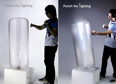 Лампа для боксера