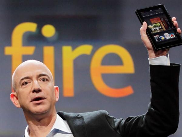 Неожиданный успех Kindle Fire «опустошил склады» Amazon