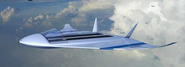 Летающий авианосец на ядерной энергии