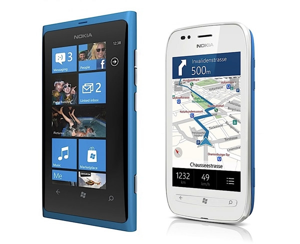Nokia официально запускает смартфоны Lumia 800 и 710 на базе WP 7.5