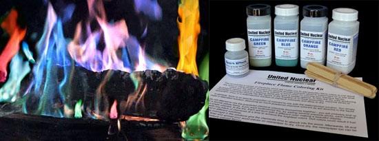 Fireplace Flame Coloring Kit поможет раскрасить огонь