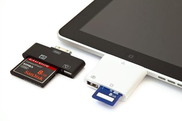 Кардридер для iPad от Photojojo