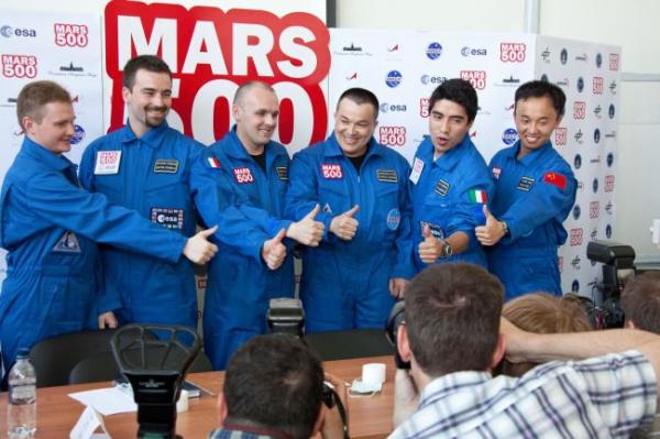 «Симуляционный» этап миссии Mars500 завершен