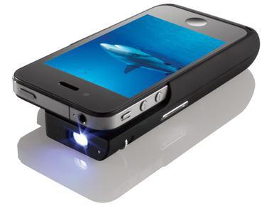 Корпус-проектор для iPhone от TI и Brookstone