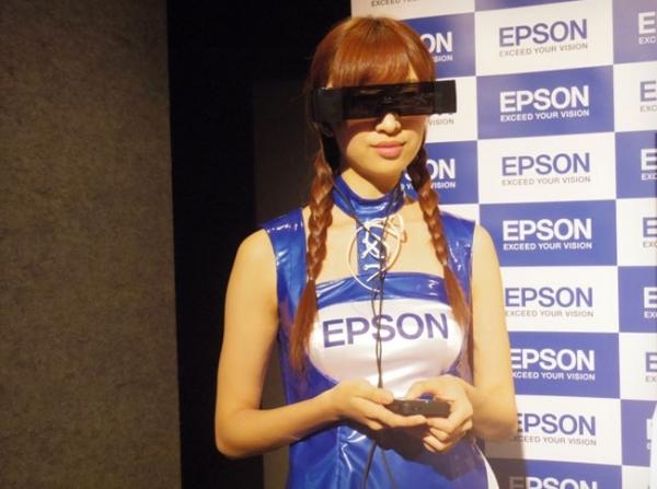 Epson Moverio BT-100 – очки виртуальной реальности с прозрачными линзами