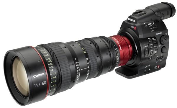 Canon запускает цифровую кинокамеру EOS C300