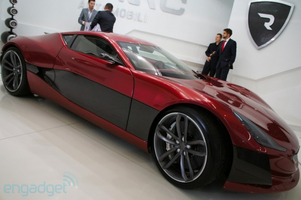 Суперкар «Concept One» из Хорватии