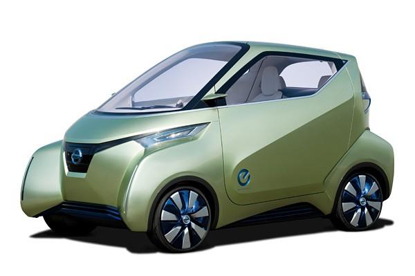 Nissan продемонстрировала свой новый концепт электрокара Pivo 3