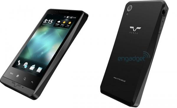 Verzo запускает Android-смартфон Kinzo