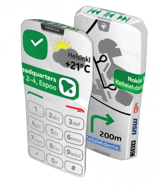 Nokia фантазирует: концепт смартфона GEM