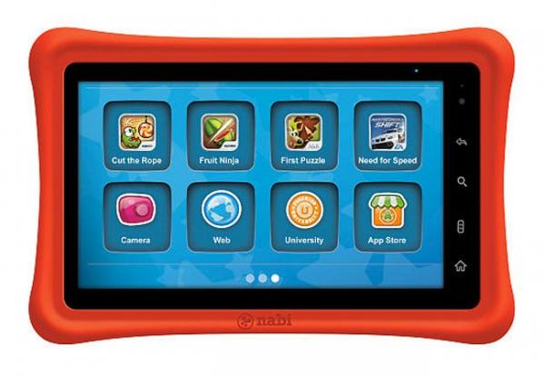 Детский Android-планшет Nabi