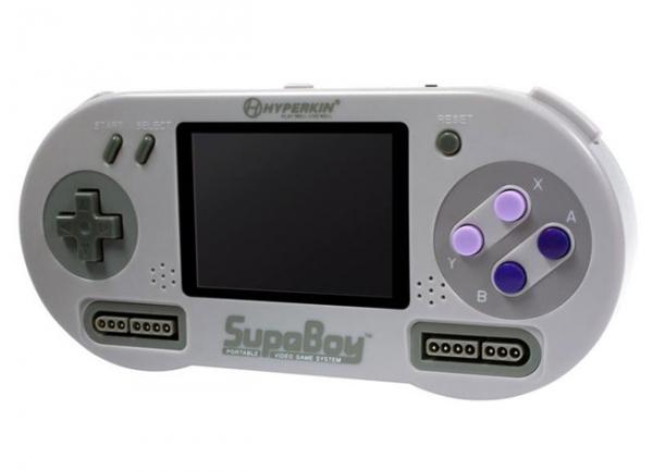 Портативная игровая консоль SupaBoy SNES Handheld