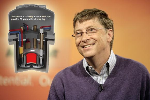Билл Гейтс поможет Китаю построить сверхбезопасный ядерный реактор