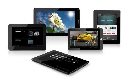 Coby выпускает пятерку Android-планшетов к Q1 2012
