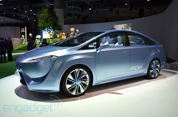 Toyota напоминает о топливных элементах концепт-каром FCV-R