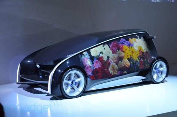 Концепт-кар Toyota Fun-Vii: мгновенно меняет экстерьер и интерьер