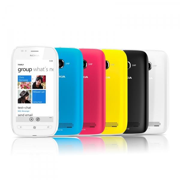 Nokia начала отгрузки WP-аппаратов Lumia 710