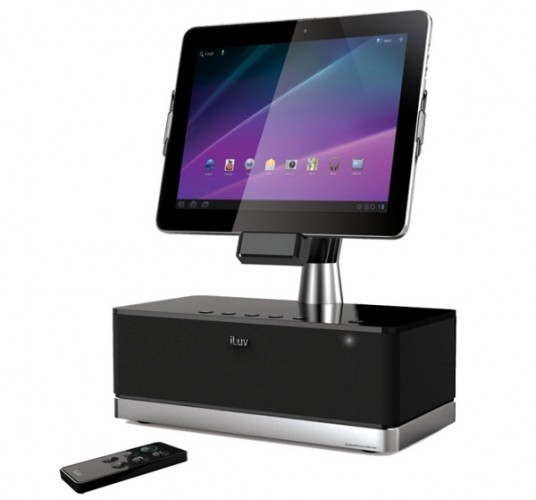 iLuv ArtStation Pro – док-станция для планшетов Samsung Galaxy Tab