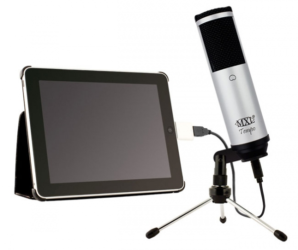 MXL Tempo – микрофон для iPad