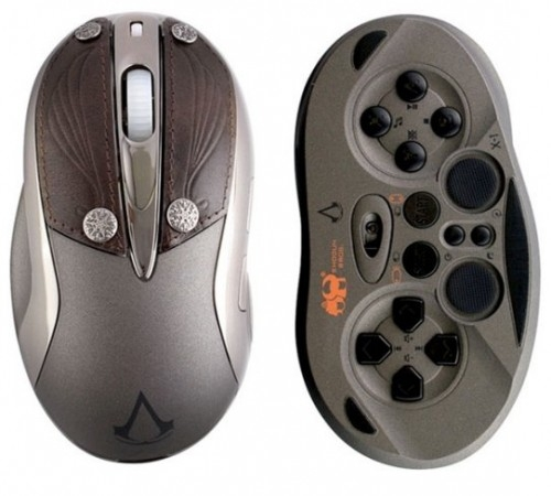 Игровая мышь Chameleon X-1 в стиле Assassins Creed