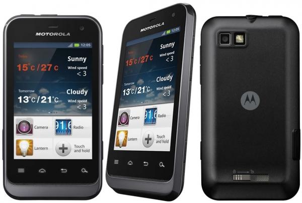 Компактный защищенный смартфон Motorola Defy Mini