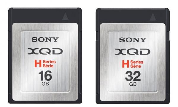 Высокопроизводительные карты памяти стандарта XQD