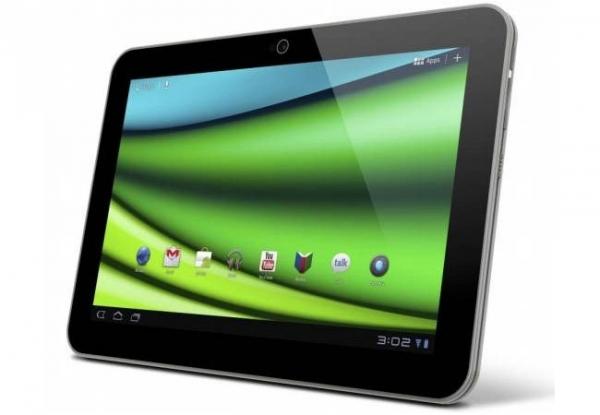 Самый тонкий в мире планшет Toshiba Excite X10