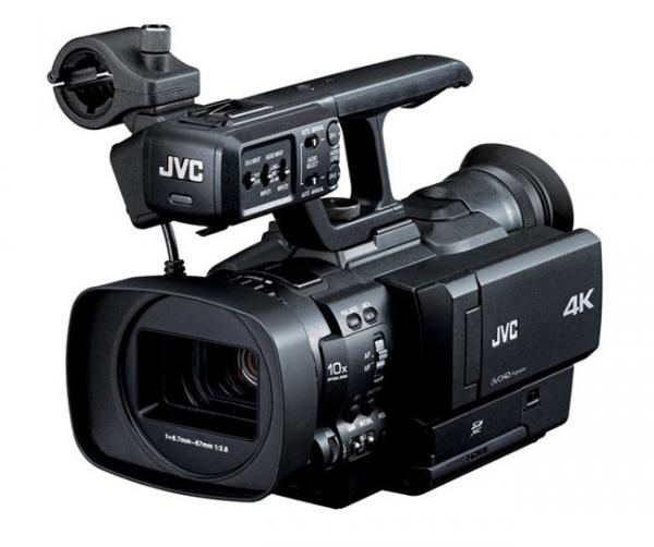 Первая в мире 4k-камера от JVC