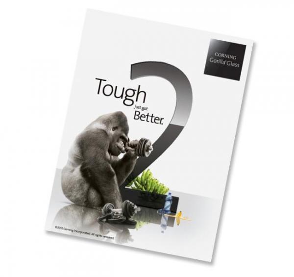Corning представила второе поколение Gorilla Glass