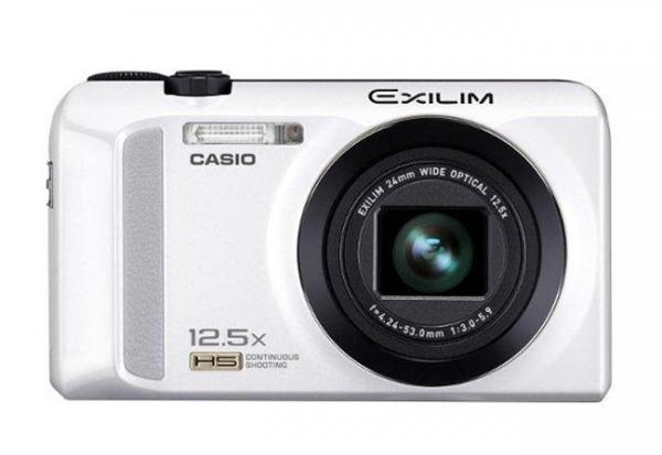 Скоростная компактная фотокамера Casio Exilim EX-ZR200