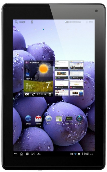 LG официально представляет 8,9'' планшет Optimus Pad LTE